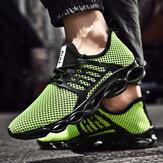 Ji Feng Mesh alkalmi sportcipő férfi futócipő lélegző könnyű férfi cipő