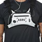 ASRV 600D Oxford Kumaş Taktik Göğüs Çanta Su Geçirmez Yansıtıcı Koşu Yeleği Çanta Telefon Çanta Cüzdan Outdoor Kampçılık Seyahat