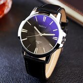 YAZOLE 332 Fashion Simple Style Business Men Wrist Watch Leather Quartz Watch