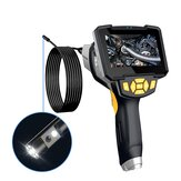 Inskam112-2 1080P Camera 6 LED 8mm Dual-lens HD Industrial Borescope 4.3 inches Screen Video Pictures TF Card 1700mAh IP67 Waterproof Camera