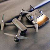 Utoghter X9 WIFI FPV avec contrôle de l'application de la pression de l'air de la caméra 1080p pliable Quadricoptère RC RTF