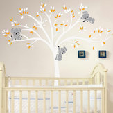 Abnehmbare Wandbild Koala Tree Wandaufkleber Kids Decals Home Room Nursery