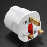 European 2 Pin ke UK 3 Pin Plug Adapter EU Schuko Adaptor Perjalanan Wisata Max 3250W