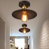E26 / E27 السقف الصناعي ضوء مصباح تركيبات غرفة المعيشة ديكور المنزل