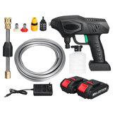 900 W Cordless Rondella Ad Alta Pressione Batteria Indicatore di Lavaggio Auto Pistole A Spruzzo Acqua Cleaner W/1/2 Batteria Per Makita