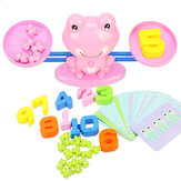 Digital Balance Scale Toy Early Learning Children Enlightenment Digital Addition Subtraction Math Scales Toys