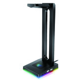 Havit RGB cuffia Stand con 3,5 mm AUX e 2 porte USB, supporto per cuffie per giocatori Gaming Accessori per PC Scrivania