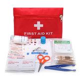 Первая помощь в чрезвычайных ситуациях Набор 79 предметов для выживания Сумка для Авто Travel Home Emergency Коробка