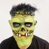 Green Zombie Scary Face Mask for Halloween Toys