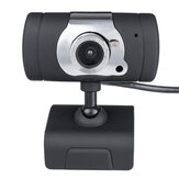 HD completa 720P PC Câmera de laptop USB 2.0 Webcam Chamada de vídeo Web Cam W / Microphone Camera