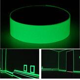 12mmx10mFotoluminescerende tape Glow At Darkness Egress Veiligheidsteken Heldergroene decoraties