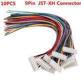 10PCS 9Pin 8S Aansluitkabel voor stopcontactdrager Male / Female JST-XH Connector