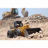 HuiNa Toys1520 Altı Kanal 1 / 18RC Metal Buldozer Şarj RC Araba