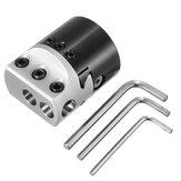 MachifitF1Porte-outildefraisagepour tête d'alésage 1/2 pouce 50mm pour outils de tour de barre d'alésage 1/2 pouce