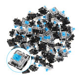 70PCS Pack 3Pin Gateron Clicky Blue Switch Toetsenbord Schakelaar voor Mechanisch Gaming Keyboard