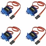4 PCS SG90 Mini Gear Micro Servo 9g Untuk RC Airplane Helicopter