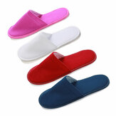 1 Pair Hotel Travel Wegwerp Slippers Home Guest White Red Blue Slippers
