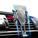 FONKEN Air Vent Gravity Linkage Automatic Lock Car Phone Holder For 4.7 Inch - 6.0 Inch Smart Phone