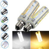 E17 / E11 / E12 / E14 / BA15D / G4 / G9 3.5W 152 SMD 3014 Dimbaar Warm Wit / Wit Corn Light Lamp AC220V