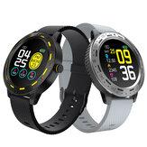 Bakeey S18 Dokunmatik Ekran her zaman Kan Basıncı O2 Monitör 8 Spor Modu Whatsapp Kronometre Akıllı Izle Itin