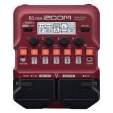 Zoom B1 DÖRT / B1X DÖRT Bas Gitar Çok Etkileri İşlemci Pedalı, Dahili efektler ile, Amp Modelleme, Lüper, Ritim Bölümü, Tuner, Batarya Powered