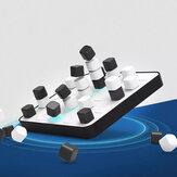 GIIKER ذكي Space Four Men Chess لوحة شطرنج ثلاثية الأبعاد للفضاء بلوتوث ألعاب ألغاز للبالغين والأطفال AI معركة مع ضوء تذكير من Xiaomi Youpin