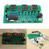 5V-12V AT89C2051 Multifuncionais Six Digital LED DIY Electronic Relógio Kit