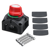 12V/24V 300A Marine 4 Position Changeover Battery Switch Isolator Cut Off Kill Switch