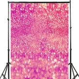 3x5FT 5x7FT Vinyl Pink Shining Glitters Fotografie Hintergrund Studio Prop