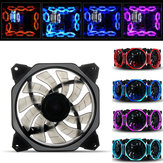 1PC 120mm 3Pin 4Pin Monochrome Color Light Cooling Fan for Desktop PC Computer