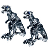1 Paar coole Tyrannosaurus Rex Unisex Punk Dinosaurier Ohrstecker für Männer und Damen