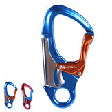XINDA XD-Q9652 Aluminum 30KN Climbing Aerial Safety Carabiner Fire Rescue Security Auto Lock Rappelling Equipment