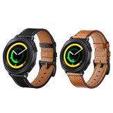 جلد طبيعيّ ساعة حزام حزام ل Samsung جير رياضة S4 / Garmin Vivoactive 3