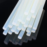 10Pcs 11mm x 19cm Clear Melt Glue Adhesive Sticks Environmental Adhesive Strip