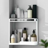 Drainable Wall Shelves High Capacity Storage Rack Bathroom Organizer Home Storage For Toilet Kitchen Bathroom
