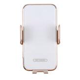 Bakeey V8 15W Kablosuz Araba Şarj Cihazı Akıllı Algılama Otomatik Sıkma Hızlı Şarj iPhone 12 XS 11Pro Huawei Mate 20 Pro Mi10