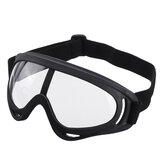 Motorcycle Racing Goggles Anti Fog Dust Mist Splash Eye Shield Glasses Work Protection