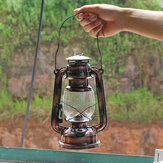 Vintage Style Lantern Kerosene Paraffin Oil Outdoor Camping Hiking Lamp Home Dec
