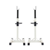 180KG Load Capacity Adjustable Squat Rack Bench Press Weight Lifting Barbell Stand Fitness Gym Barbell Accessories