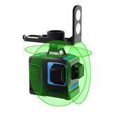 Трехмерное выравнивание зеленой линии с 12 линиями Лазер Уровень 3x360 Перекрестная линия Трехуровневое выравнивание и выравнивание Лазер