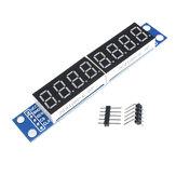 8 Digit Bit MAX7219 Digital Tube Display Module Board 7 Segment Digital LED Display 5V/3.3V Controller for Arduino 51/AVR/STM32