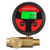 1/4 Zoll 200PSI Luftdruckregler Manometer Druckregelventil für Spritzpistole