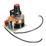 5 sztuk 220V 500W regulacja prędkości ściemniania regulator prędkości obrotowej gubernatora bezstopniowe zmiennej prędkości BT136 moduł sterowania prędkością