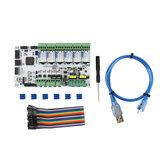RUMBA Mainboard Impressora 3D de 32 bits Mainboard Marlin 2.0 + 6 Pcs TMC2130 Kit de driver de motor de passo para impressora 3D