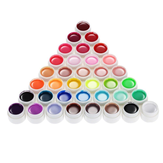 36 Pure Colors 5ml UV Żel Builder Nail Art DIY Dekoracje Manicure