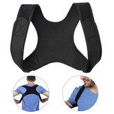 Pria / Wanita Adjustable Postur Korektor Brace Penopang Sabuk Klavikula Tulang Belakang Punggung Bahu Koreksi Postur Lumbar
