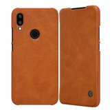 NILLKIN Flip Shockproof Card Slot Holder PU Leather Protective Case for Xiaomi Redimi 7