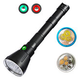 Asafee SST70 100W 10000LM Diving Flashlight Waterproof Super Bright LED Night Torch Professional Diving Light