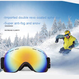 ユニセックスアダルトクライミングスキー防曇UV保護サンドプルーフゴーグルスキーメガネ