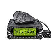 Zastone Radio Transceiver D9000 512 kanałów Ham 50W 136-174 MHz 400-520 MHz Samochodów Walkie Talkie Mobile